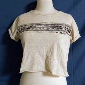 Billabong Cropped Short Sleeve Tee